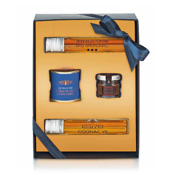 Coffret Foie Gras, Cognac et Armagnac  - Comtesse du Barry
