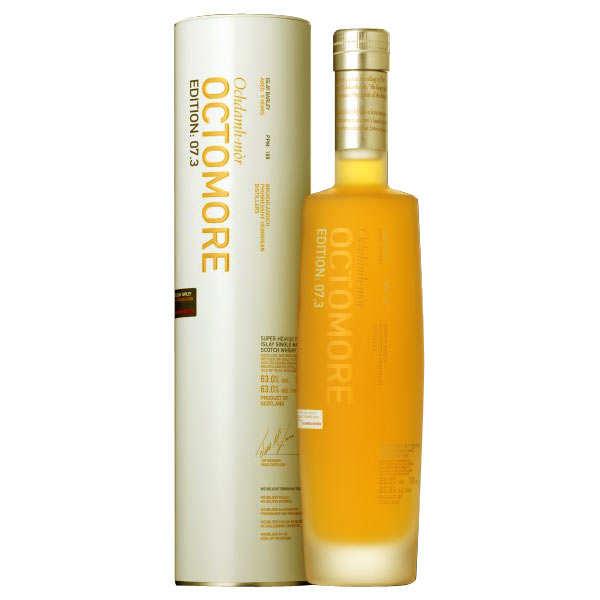 Whisky Octomore 7.3 169ppm - Single malt 63°