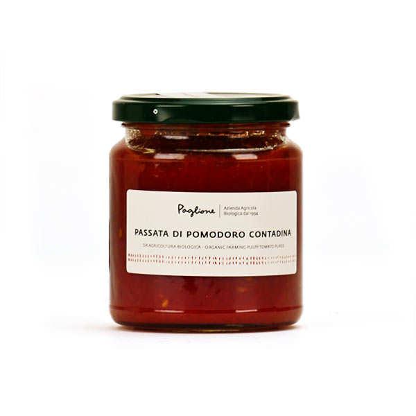 Organic mashed tomato Passata Contadina