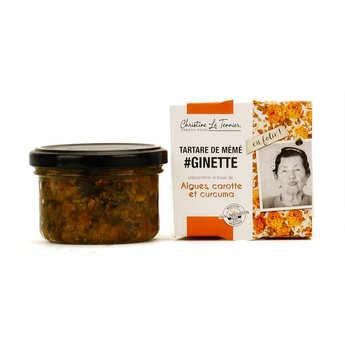 Christine Le Tennier - Tartare d'algues à la carotte et au curcuma
