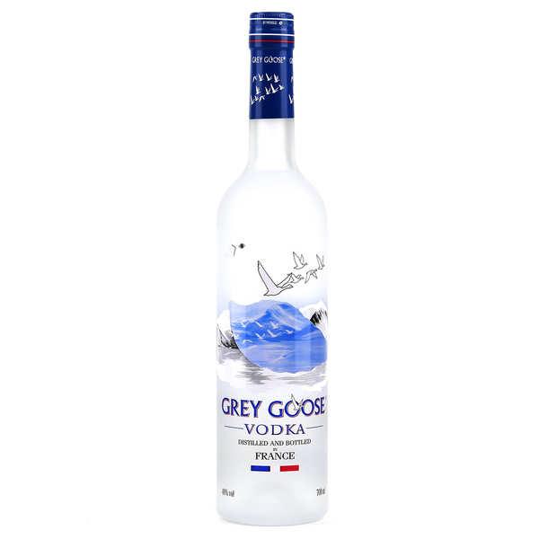 Coffret Vodka française Grey Goose et mélangeurs