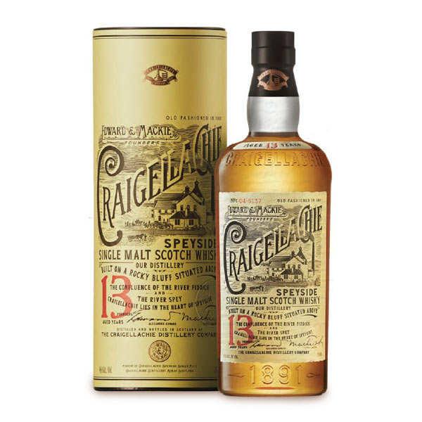 Craigellachie - Single Malt Scotch Whisky - 13 years 46%