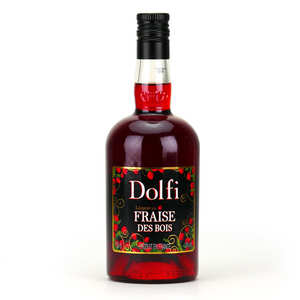 Vedrenne - Dolfi - Wild Strawberry Liqueur - 18%