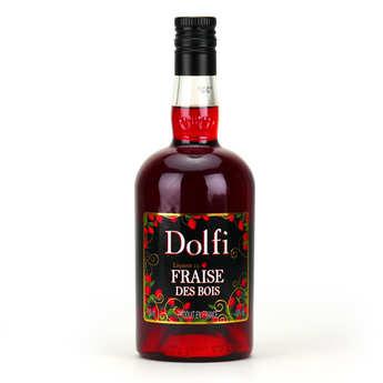 Vedrenne - Dolfi - liqueur à la fraise des bois - 18%