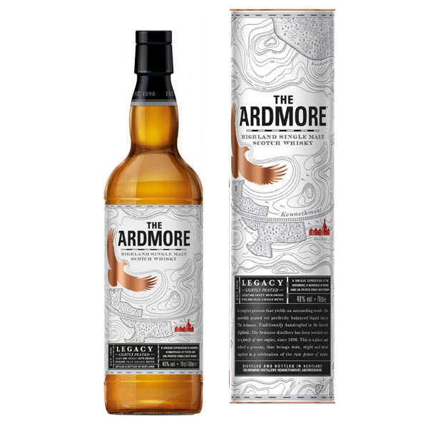 The Ardmore Legacy - Single Malt Highland Scotch Whisky 40%