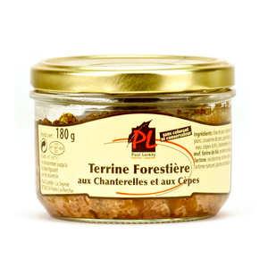 Paul Laredy - Chanterelle and Porcini Mushrooms Pork Terrine