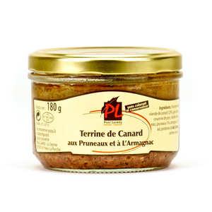 Paul Laredy - Terrine de canard à l'Armagnac et aux pruneaux