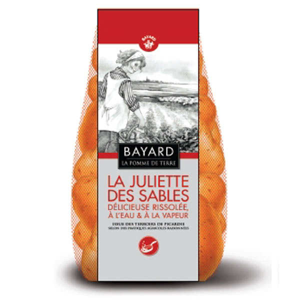 Pommes de terre Juliette des Sables de la Baie de Somme