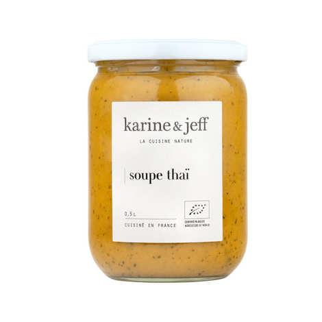Karine & Jeff - Organic Thailandese Soup