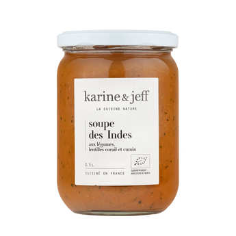 Karine & Jeff - Organic Indian Soup