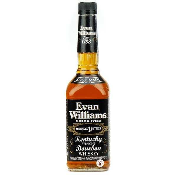 Bourbon Evan Williams Black Label - Kentucky Straight Bourbon Whisky - 43%