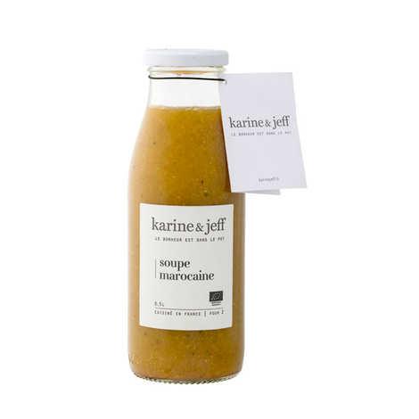 Karine & Jeff - Soupe marocaine bio