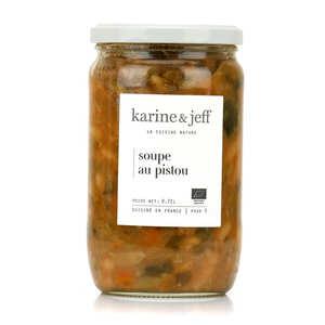 Karine & Jeff - Soupe au pistou bio