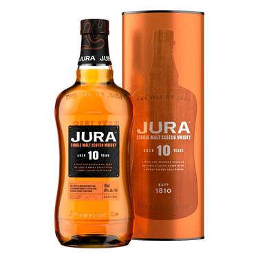 The Isle of Jura - Single Malt Whisky - 10 years old - 40%