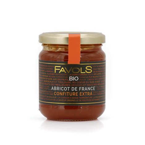 Favols - Confiture extra bio d'abricot du Roussillon