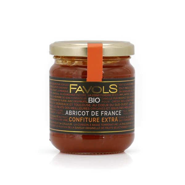 Confiture extra bio d'abricot du Roussillon