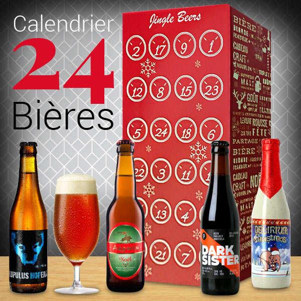 Calendrier de l 39 avent 24 bi res du monde bienmanger paniers garnis - Calendrier de l avent biere carrefour ...