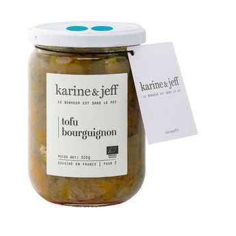 Karine & Jeff - Tofu bourguignon bio