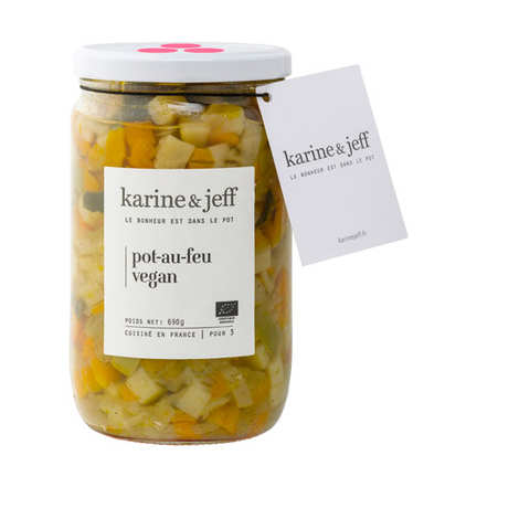 Karine & Jeff - Pot-au-feu vegan bio