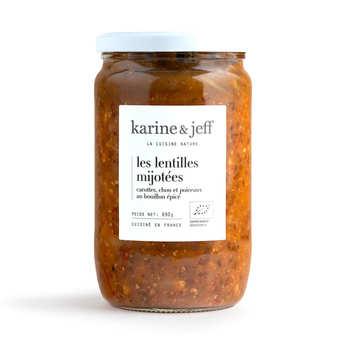 Karine & Jeff - Organic and Vegan 'Petit Salé' with lentils