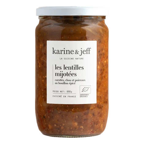 Karine & Jeff - Organic and Vegan 'Petit Salé' with lentils