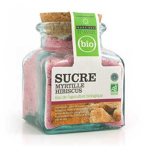 Quai Sud - Sucre myrtille hibiscus bio