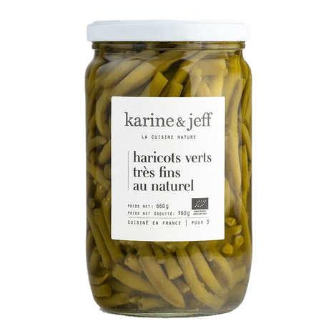 Karine & Jeff - Haricots verts très fins au naturel bio