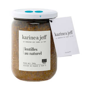 Karine & Jeff - Lentilles au naturel bio