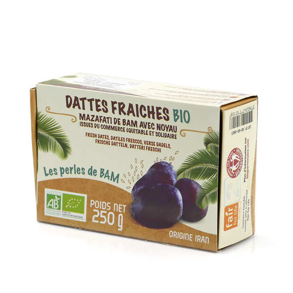 Organic and fair trade fresh dates from Bam