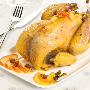 Famille Quintard - Farm capon of guinea fowl from Aveyron