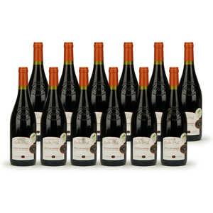 Les vignerons de l'Enclave - Lot de 12 Côtes du Rhône Marquis Moulin d'Eole - Médaille d'Or CGA Paris