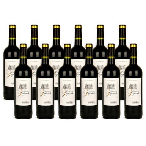 Château les Joyeuses - 12 bouteilles Château Les Joyeuses Bordeaux vin rouge