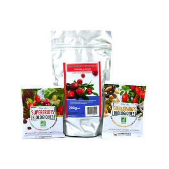- Assortment of Packets of Superfruits
