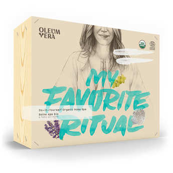 Oleum Vera - Organic SPA treatment box - Do it yourself