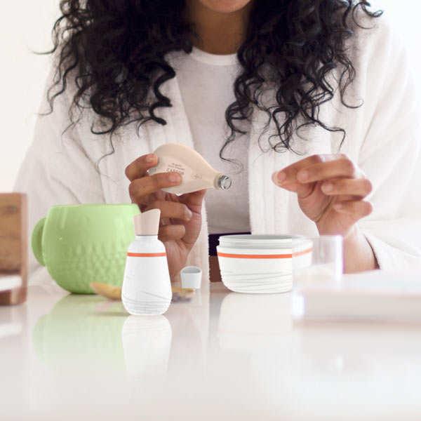 Coffret de soins nettoyants bio pour le visage à faire soi-même
