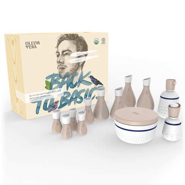 Organic Men's Care Box - Do it yourself
