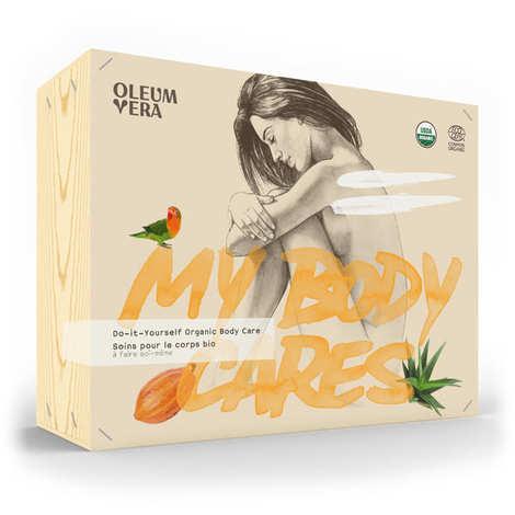 Oleum Vera - Coffret de soins bio pour le corps à faire soi-même