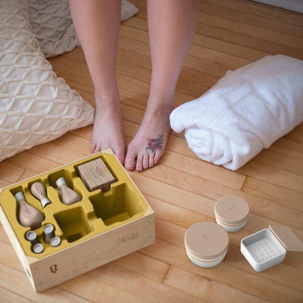 coffret de soins bio pour le corps faire soi m me oleum vera. Black Bedroom Furniture Sets. Home Design Ideas