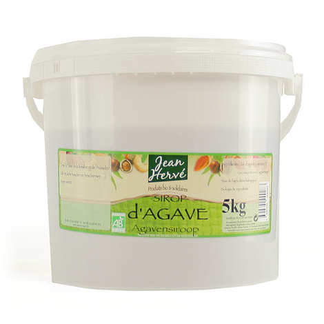 Jean Hervé - Sirop d'agave bio en seau de 5kg