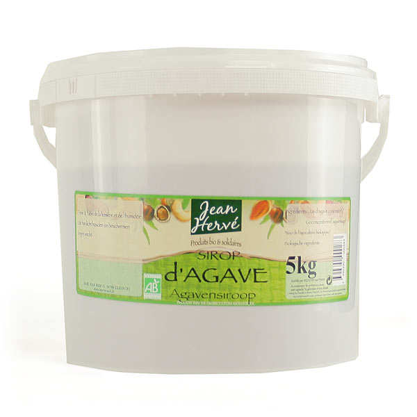 Organic agave syrup (5kg)