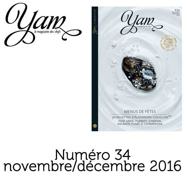French magazine about cuisine - YAM n°34
