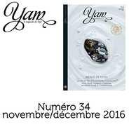 Yannick Alléno Magazine - French magazine about cuisine - YAM n°34