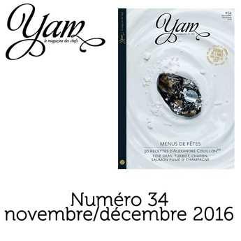 Yannick Alléno Magazine - YAM n°34