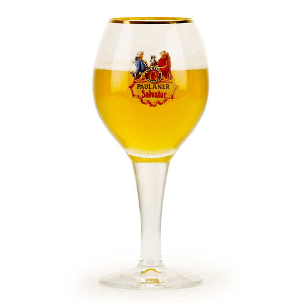 Verre à pied pour bière Paulaner Salvator 30cl
