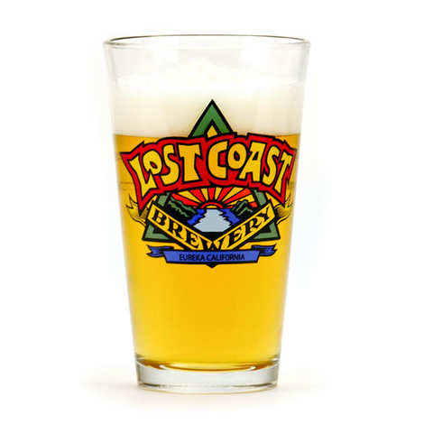 Lost Coast Brewery - Lost Coast Brewery Glass