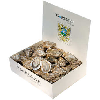 Les Parcs Saint Kerber - Deep Oysters from Cancale - Tsarskaya Variety