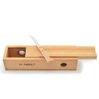So Apéro - The sausage cellar and its knife So Apéro