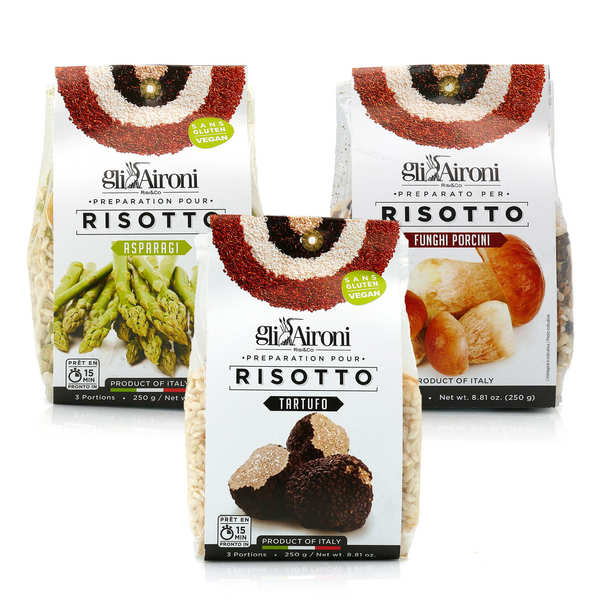 3 Italian Risotto