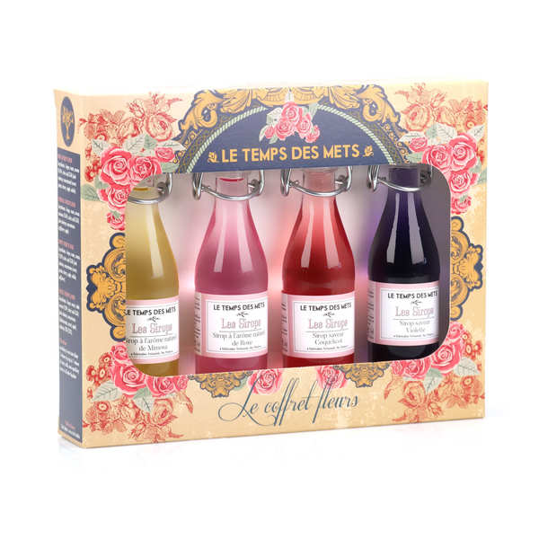 4 Flower Syrups Box
