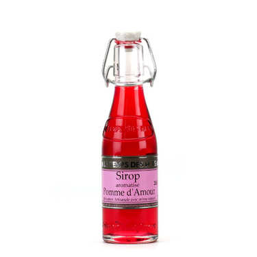 Sirop pomme d'amour